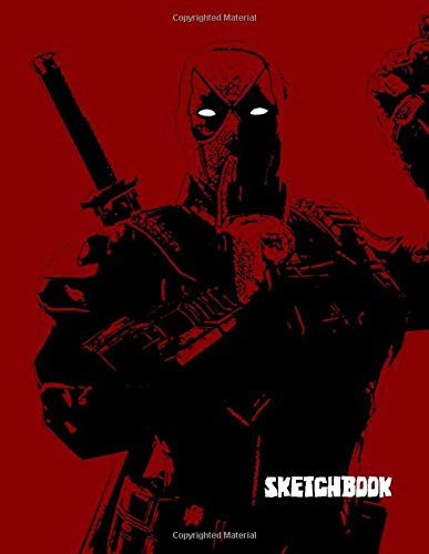 SKETCHBOOK: A Superhero themed Sketchbook and Notebook for your everyday needs.
