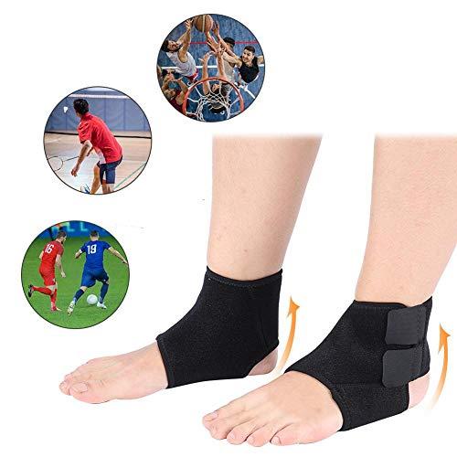 Supporto per Caviglia, Tutore per Caldo, per Fascite Plantare Tendinite di Achille Dolore Articolare per Recupero Lesioni Calze Piedi Gonfie Legamento Speroni Fratture Distorsioni Proteggi(2PCS)