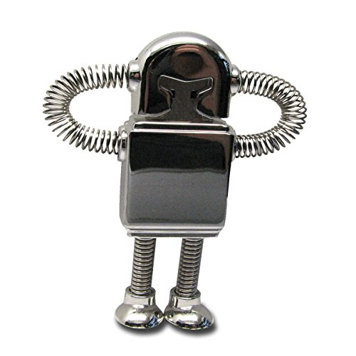 818-Shop No18700040002 USB-Sticks (2 GB) Roboter Metall 3D silber