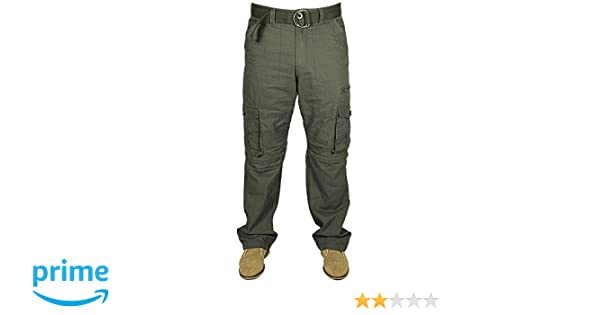 565fd398f1 Kam Mens 2 in 1 Trousers to Shorts Casual Cargo Combat Pockets Pants in  Charcoal Grey Free Belt 28-60: Amazon.co.uk: Clothing