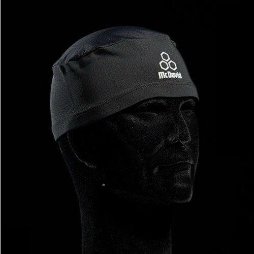 McDavid Skull Cap (Skully), Schwarz, Universalgröße Haube Cap Haube
