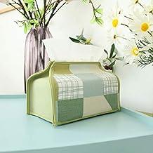 Bombear cartón pastoral toalla caja pequeña tela fresca cartón nórdico papel conjunto sala de estar coche