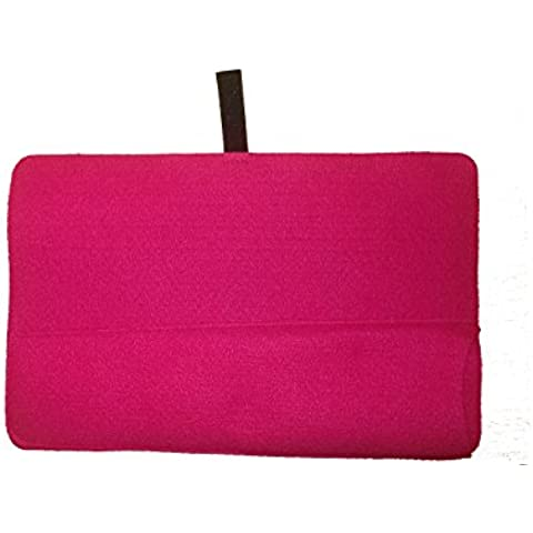 Mateque Pink Cerise Heat Mat with Pouch for travel for all hair straighteners ghd by Mateque