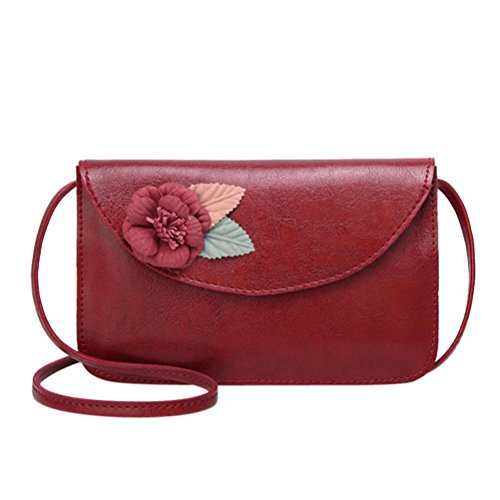 f6ab8f5e9bcb sacs à bandoulière,Femmes à la mode fleur sac à bandoulière en cuir