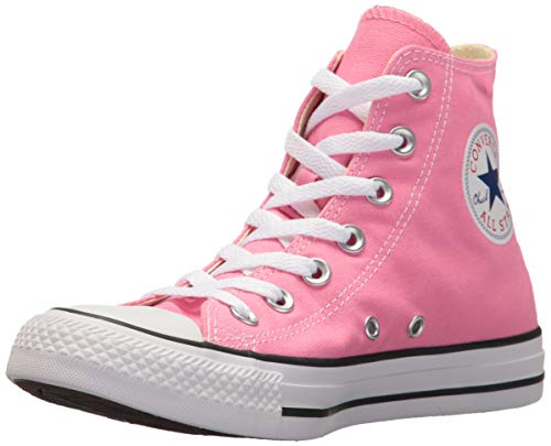 Converse Unisex Chuck Taylor All Star Canvas Hi-top Trainers, Pink, 6.5 Uk