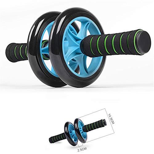Lisansang Ab Roller-Rad-Übungsgerät Ab-Rad-Rollen-Übungsräder sind Robustes, glattes Rollen und Rutschfeste Griffe Ab-Rad-Übungsgerät, Ab-Rad-Roller für Heimtrainer,