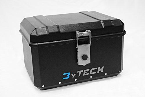 MyTech - Bauletto light 60 Litri con piastra - compatibile con BMW R 1100 GS