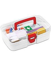 Milton First Aid Box, 1 Piece, White