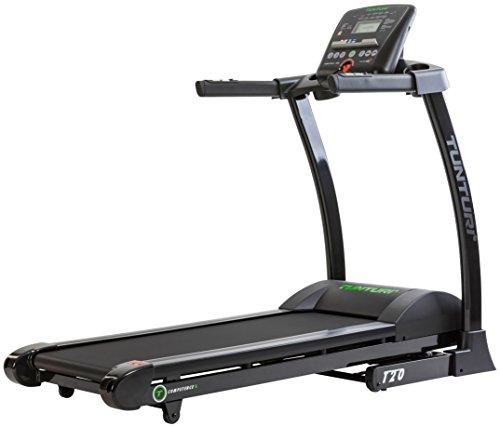 Tunturi T20 Treadmill Compentence Unisex-Adult, Nero/Grigio, Taglia Unica