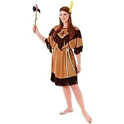 Theme Fancy Dress Disfraz de mujer de Indígena India