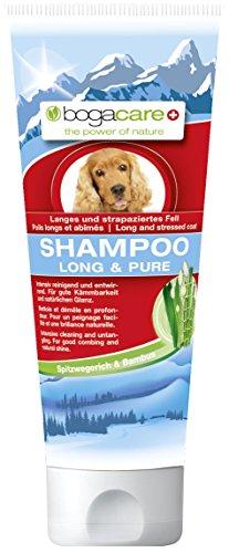 Bogacare Ubo0489 Shampoo Long und Pure für Hund, 200 ml