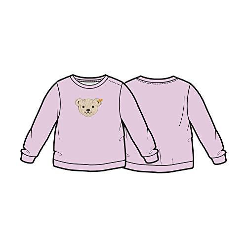 Steiff Baby-Mädchen Sweatshirt, Violett (Pastel Lilac 7009), 74