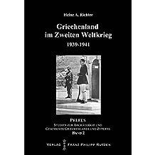 Griechenland im Zweiten Weltkrieg 1939-1941: Contingenza Grecia - Operationen Barbarity, Lustre und Marita (Peleus)