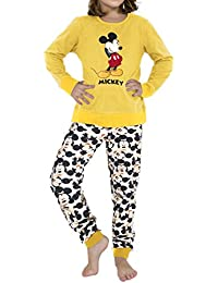 Disney - PIJAMA MICKEY NIÑA Hombre color: MOSTAZA talla: 12