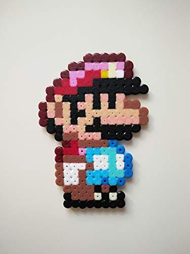 Super Mario klein ~ Super Mario World ~ Pixel Art (Kunststoff Mario)