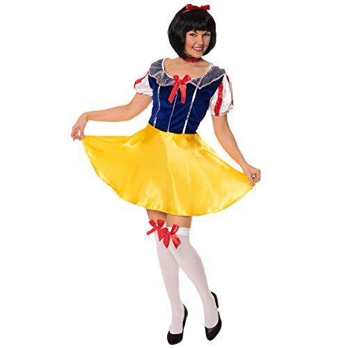 Fairytale Snow White Abendkleid-Ausstattungs Größe 2XL (Frauen: 20-22)