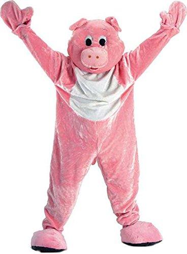 Kostüm großem Kopf Schwein, Größe 190 (Kostüme Großer Kopf)