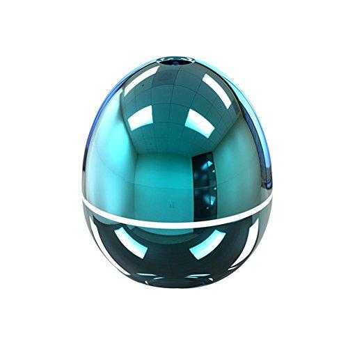 Mini USB Auto tragbar Cool Nebel Luftbefeuchter Duftöldiffusoren Ei Gestalten Aromatherapie Ätherisches Öl Diffusor Luft Luftreiniger zum Auto Büro Zimmer (50ML) , pink