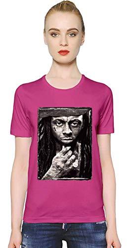 Lil Wayne YMCMB Porträt YMCMB Portrait Women T-Shirt Girl Ladies Stylish Fashion Fit Custom Apparel by Large - Rosa Shirt Lil Wayne