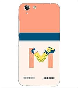 PrintDhaba GRANDbet M D-2636 Back Case Cover for LENOVO LEMON 3 (Multi-Coloured)