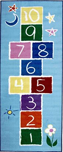 La Teppich Primary Hüppekästchen Teppich 48,3x 73,7cm