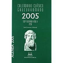 Calendario clásico grecorromano 2005