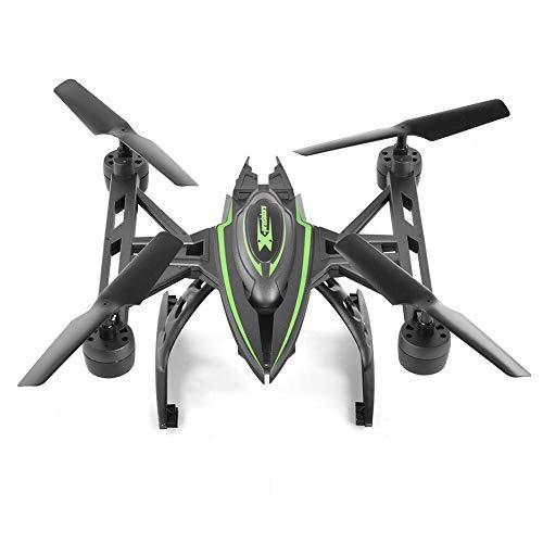 Coil.c rc drone quadricottero per principianti, drone con fotocamera, jxd 510w pressione dell'aria altitudine e telecomando, wifi trasmissione in tempo reale, 4 assi uav verde