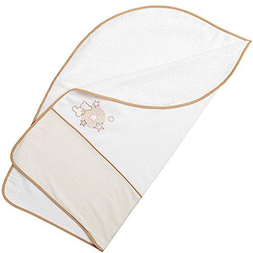 Arrullo para bebé pique rizo (80x80 cm) BOOM beige