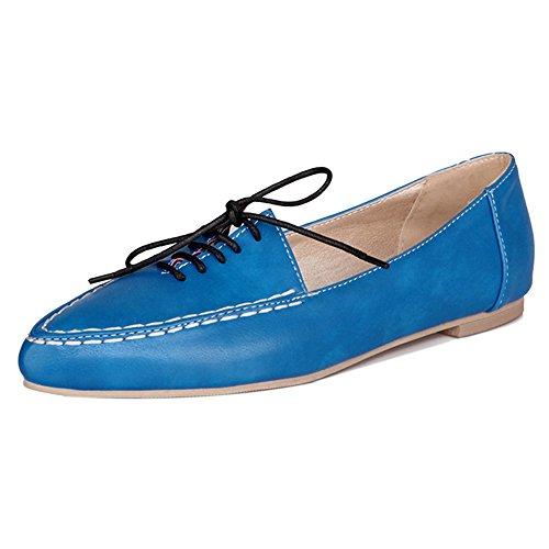 Strada Donna Basse Lacci Scuola Taoffen Da Indicò Scarpe Blu Scarpe Moda Cedole wHqxTY7d