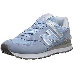 New Balance 574v2, Zapatillas para Mujer, Azul (Air NB/White Esc), 40.5 EU