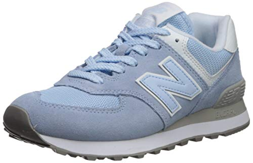 New Balance 574v2, Scarpa da Tennis Donna, Blu Air, 40.5 EU
