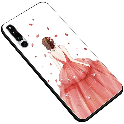 SDB Huawei Honor Magic 2 gehärtetes Glas Hochzeitskleid Frau 9H Anti-Scratch TPU...