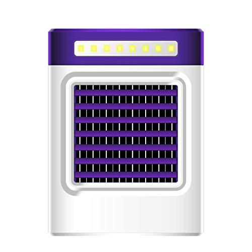 SMILEQ Nuevo S9 Carga USB Mini refrigerador Aire Acondicionado