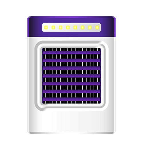 ZEELIY ✓ Mobiler Luftkühler ✓Neue Lade S9 Mini tragbare Klimaanlage Fan Home Kühlschrank Kühler Tragbare Klimaanlage Charging Portable Multifunction Air Conditioning Fan Home Refrigerator Cool