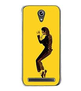 Fuson Designer Back Case Cover for Asus Zenfone Go ZC500TG (5 Inches) (dancer dance artist jackson michel concert)