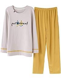 Meaeo Primavera Otoño Invierno Hombres Pijamas Sets Pijama Ropa De Dormir Ocio Ropa De Casa Pijamas