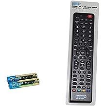 HQRP Mando a distancia universal para televisores de Sanyo JXPYR JXMWA RC-Q28M-OK DP24E14 DP26647 DP26649 DP26746 DP32640 LED TV