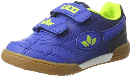 Lico Unisex-Kinder Bernie V Handballschuhe, Blau (Blau/Marine), 33 EU