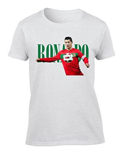 Cristiano Ronaldo Portrait Femme T-Shirt
