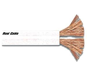Real Cable FL250B Câble Haut parleur 150 m Blanc