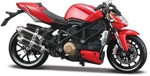 Ducati Mod. Streetfighter S 2010, Maisto Motorrad Modell 1:18