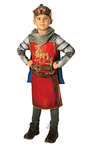 Rubie's Rubies-i-630701m-Kostüm König Arthur Sublimation-Größe M (King Arthur Kostüm Kind)