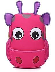 Cute Cartoon Giraffe Kids Children Backpacks Girls Boys Schoolbag