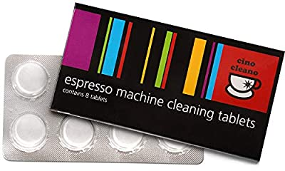 Sage Espresso Coffee Machine Pack 8 Cleaning Tablets