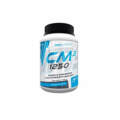Trec Nutrition -Cm3 1250 -360caps -Creatine Malate for Strength & Increase Muscle Mass!! by Body Creator