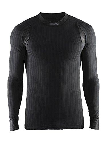 Craft 1904495-9999-5 Camiseta Térmica, Hombre, Negro, M