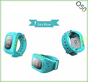 mobimint Children Kids Baby GPS Tracker Satellite Monitor SOS Phone Call Smart Watch Android Q50 compatible with