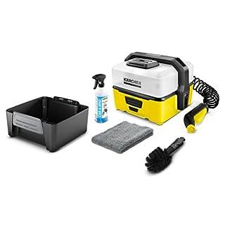 Kärcher OC 3 Mobile Outdoor Cleaner inkl. Bike Box, mit Lithium-Ionen-Akku und Wassertank