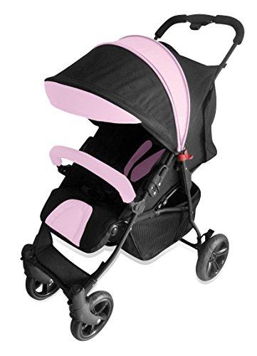 Asalvo Runner - Silla de paseo, color rosa