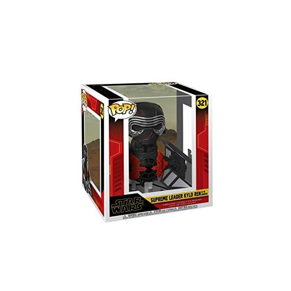 Funko Pop Kylo Ren con caza Tie Silencer (Star Wars 321) Funko Pop Kylo Ren (Star Wars)